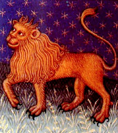 Le Lion zodiacal (période médiévale)