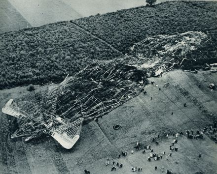 Le R101 s'écrase près de Beauvais dans la nuit du 4 au 5 octobre 1930 !