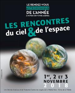 3 nov 2018 aux Rencontres de Ciel & Espace