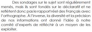 (1/2) Le Baromètre 2019 du Projet Voltaire : Français, orthographe et esprit critique